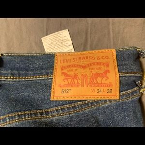Levi 512 Slim Taper Denim Jeans